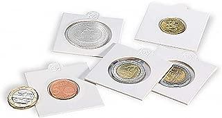 Leuchtturm 325792 Cartones para Monedas para Grapar para Monedas hasta 20 mm /Ø Paquete de 25