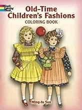 أزياء old-time للأطفال برقبة على شكل كتاب تلوين (Dover الموضة كتاب تلوين)