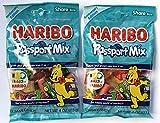 Haribo Passport Mix Gummi Candy 100TH Anniversary Edition 4 OZ Share Size ( 2 PACK )