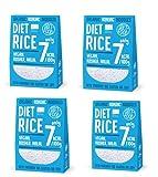 Pack 4 x Diet-Food RICE ARROZ Shirataki 300 g Bio Pasta de Konjac Noodles
