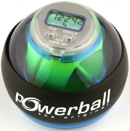 Powerball the original® Handtrainer Basic plus Counter (digitalem Drehzahlmesser) by NSD Powerball