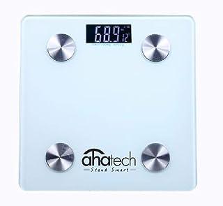 AHATECH Bluetooth Body Fat Smart Scale Analyser- Smart Bmi Scale Digital Bathroom Weight Scale, Smart Scale Body Compositi...