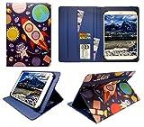 Sweet Tech YunTab N97 Tablette 9.6 Pouces Dessin Animé Astronautes Universel Étui Coque Housse (10-11 Pouces)