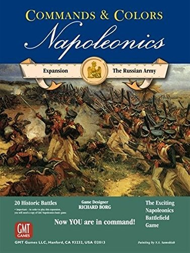GMT Games Commands & Colors: Napoleonics Expansion: The Russian Army by