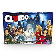 Hasbro Gaming Cluedo Game; Includes the Ghost of Mrs White Cards; Mystery Board Game for Children Ag...