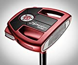 TaylorMade Golf Spider Mini Red Putter (Left Hand, Double Bend, 35 Inches)
