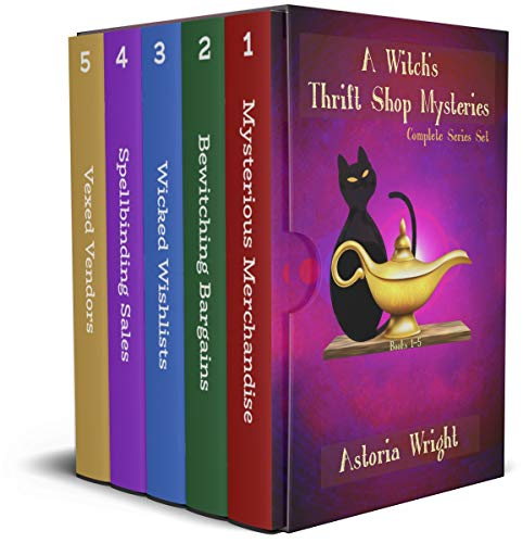 A Witch's Thrift Shop Mystery: Complete Series Set by [Astoria Wright]