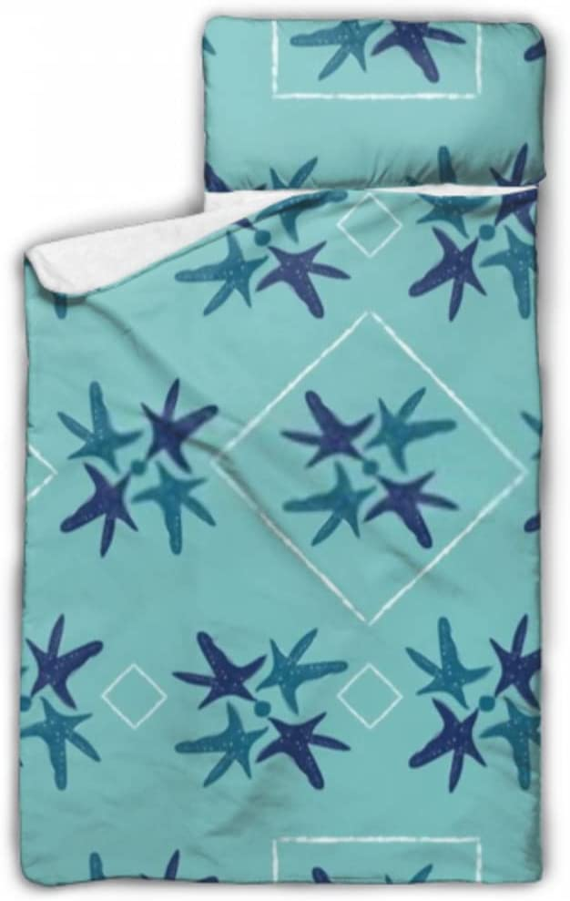 JIUCHUAN Kids service Sleeping Bag Nautical Shapes quality assurance Starfish Na Geometric