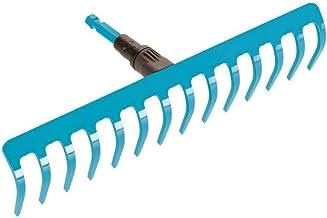 Gardena 03178-20 combisystem hark: ideaal voor harken, onkruid verwijderen en grond bewerken, werkbreedte 36 cm, geschikt ...