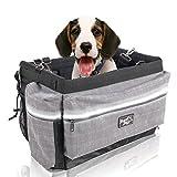 All for Paw Delux 2 in 1 cestino per bicicletta con strisce riflettenti per cani di piccola taglia, gatti, coniglio, fino a 4,5 kg