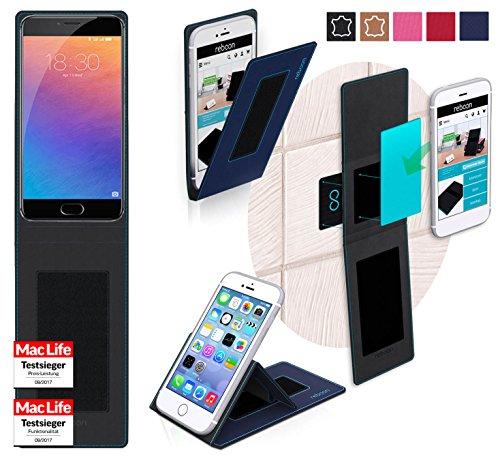 Hülle für Meizu Pro 6 Tasche Cover Hülle Bumper   Blau   Testsieger