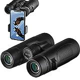 Best Binoculars - Binoculars, 12x42 Binoculars for Adults with Smartphone Adapter Review