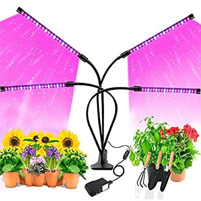 Amazon - Save 50%: Grow Light,AOBISI 9 Dimmable Brightness Grow Light for Indoor Plants Fu…