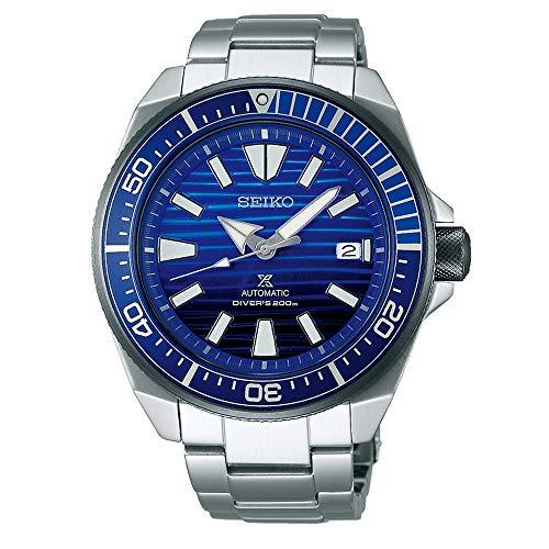 "SEIKO PROSPEX Special Edition Diver's 200M""Samurai"" Wave Blue Dial SRPC93K1"