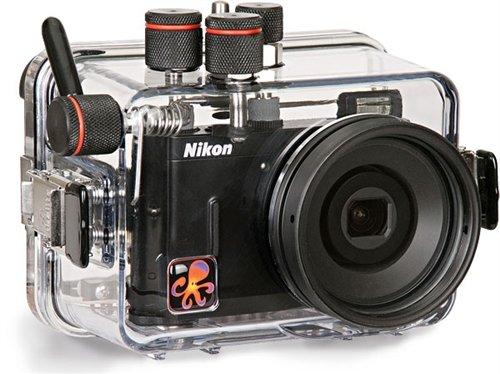Ikelite 6183.30Carcasa submarina para cámara, Transparente