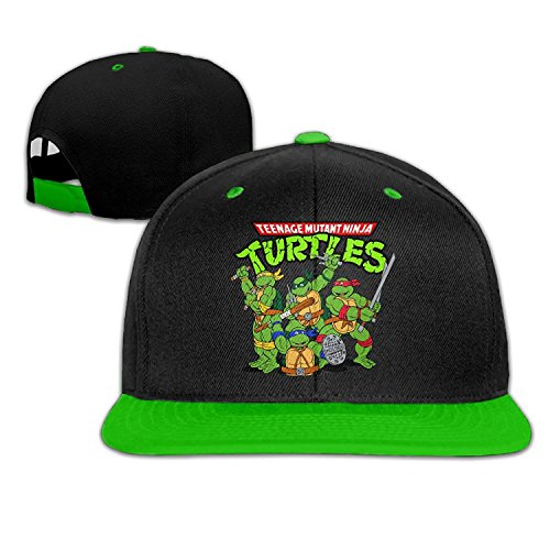 Youaini Biotio Teenage Mutant Ninja Turtles Adjustable Snapback Hip Hop Baseball Caps/Hats for Unisex