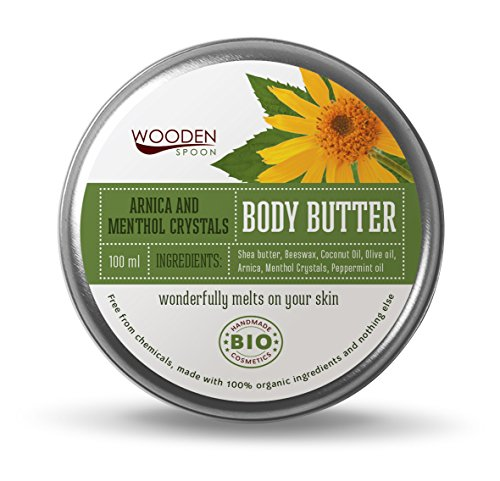 Wooden Spoon Body Butter Arnica and Menthol Crystals 100 ml by Wooden Spoon