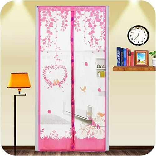 Anti-Moskito-Bildschirm Tür Sommer Anti-Moskito-Vorhang Verschlüsselung magnetische Tür Bildschirm hochwertige magnetische Mesh-Bildschirm Tür A4 B80xH210