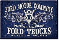 冷蔵庫/ツールボックスマグネット - フォードモーターカンパニー/フォードトラック - 2インチ x 3インチ マグネット