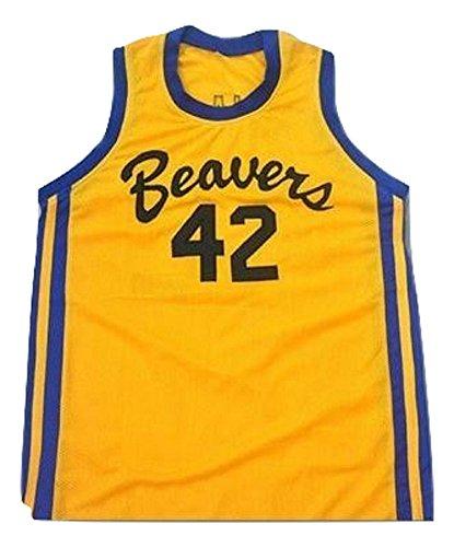 borizcustoms Teen Wolf Scott Howard 42 Beacon Beavers Basketball Jersey Stitch (38)