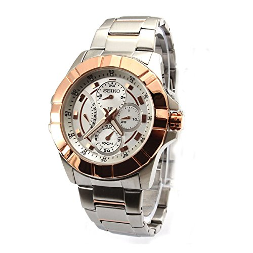 Seiko Premier Two-Tone Watch SRL068P1
