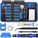 140 in 1 Precision Screwdriver Kit, Professional Computer, Laptop Repair Tool Set, 120 Magnetic Bit and 20 Repair Tools, Compatible for Cell Phone, Iphone, Tablet, Macbook, PC and Xbox Repair- Blue
