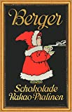 Kunstdruck Berger Chocolate Chocolate Chocolate Chocolate Chocolate Cacao Bombones Infantil Reklame A2 73 Enmarcado
