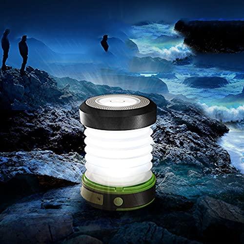 Linterna solar Linterna de emergencia Luces de camping solares recargables luces portátiles DIRIGIÓ Luces de emergencia resistentes al agua resistentes al agua linternas camping linterna para caminata