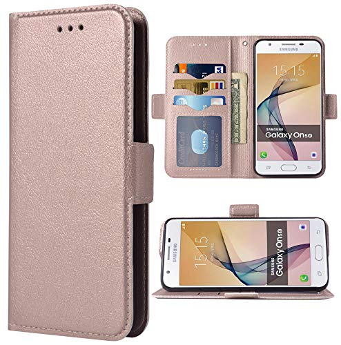 Phone Case for Samsung Galaxy on5 2015 Folio Flip Wallet Case,PU...