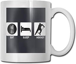 Eat Sleep Hockey Repeat Ceramic TeaCups Classic Ceramic Cup Ceramic Coffee Cup