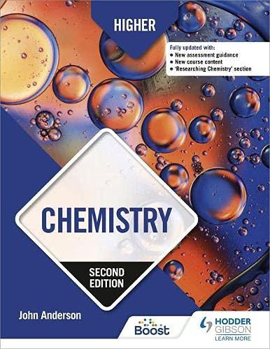 Higher Chemistry: Second E