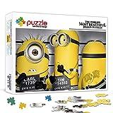 Family Fun Jigsaws Puzzles 1000 Piezas Despicable Me: Minions Jigsaw Puzzles Set for Adult es ideal como regalo para toda la familia y el rompecabezas 75x50cm