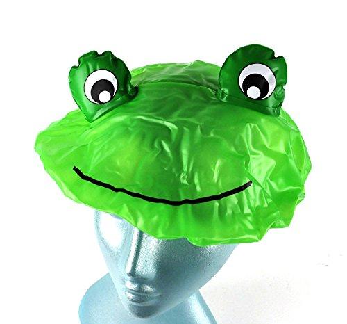 NPW Duschhaube in verrücktem Frosch-Design