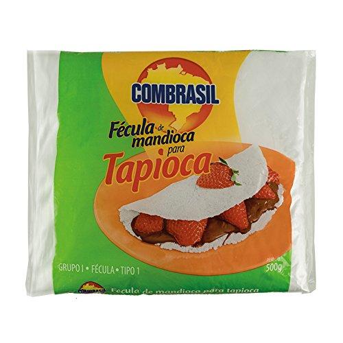 Amidon de manioc pour tapioca, sac 500 g --- Fécula de Mandioca para Tapioca COMBRASIL