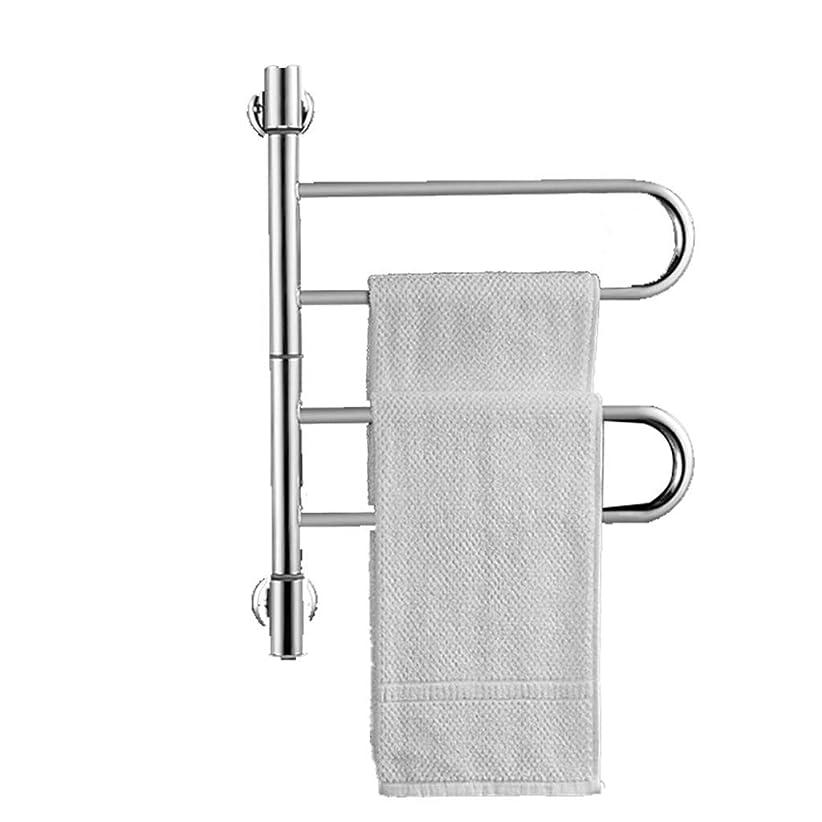 アーサーストレッチ薬局浴室用加熱タオルレールタオル乾燥機、タオルラックプレミア品質ヘビーデューティステンレススチール大床立ちタオルスタンド