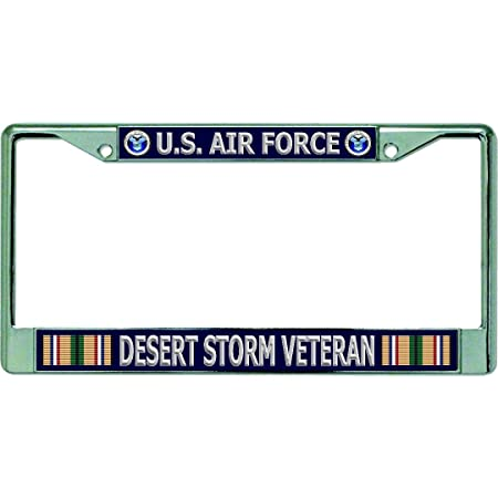 Vehicle Car and Truck Car BaoyCea Running Horse in Desert Storm License Plate Cover Metal Aluminium Auto Car Plates Novelty Tag for Auto Cars 6 inch X 12 inch