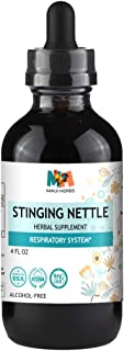 Stinging Nettle Tincture 4 FL OZ Alcohol-Free Liquid Extract, Organic Stinging Nettle Leaf and Root (Urtica Dioica)