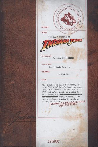 The Lost Journal of Indiana Jones