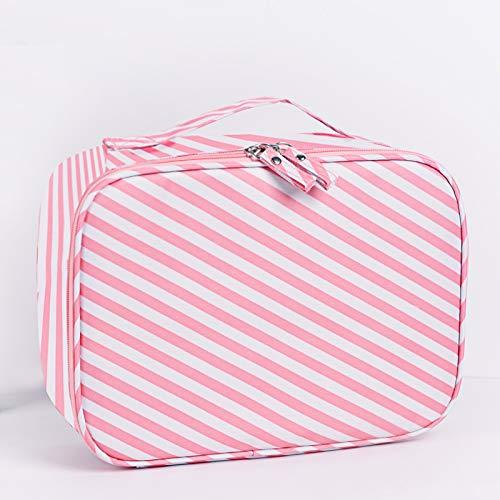 Sac cosmétique beauté sac cosmétique hommes et femmes voyage sac de lavage grande capacité sac de rangement imperméable à l'eau simple portable sac cosmétique 24 * 18 * 9CM A3