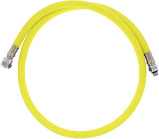 DGX Regulator Hose, Flex, 40 in | 102 cm}, Yellow