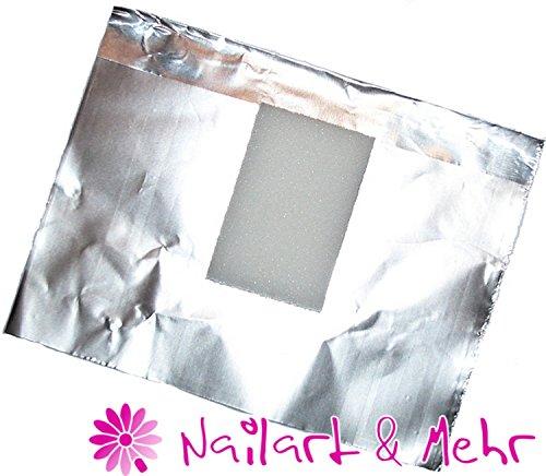 100 stuks folie-wraps voor het eenvoudig verwijderen van acryl ~ Studiopack.