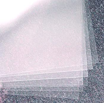 Oasis Supply Acetate Sheets - Clear - 12  x 18  - 10 Count  10 12  X 18