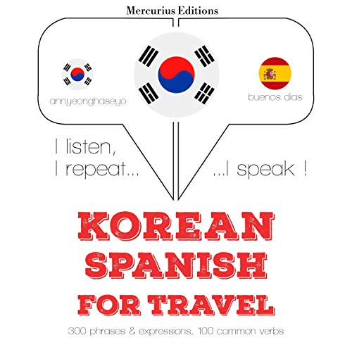Korean – Spanish. For travel cover art