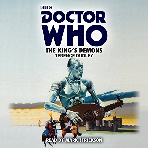 Doctor Who: The King's Demons audiobook cover art