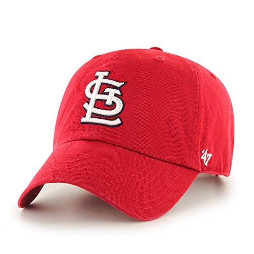 MLB '47 Brand Clean Up Adjustable Cap, St. Louis Cardinals