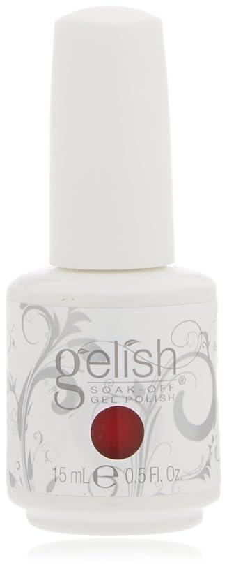 親密な量ホットHarmony Gelish Gel Polish - Scandalous - 0.5oz / 15ml