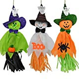 CHBOP 3 Pezzi Decorazioni di Halloween Ghosts Doll Pendants, Elementi Decorativi di zucche, Fantasmi e Ragni, per la casa, Bar, KTV, supermercato Decorazioni