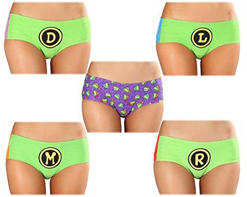 Teenage Mutant Ninja Turtles TMNT 5pk Panties (Large)