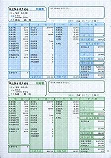ソリマチ 給与・賞与明細書(明細タテ型) 100枚入 SR2301