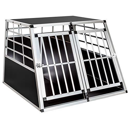 TecTake Alu Hundetransportbox -Diverse...